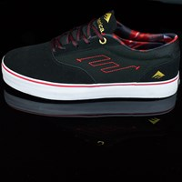 Emerica The Provost Shoes, Color: Black, Red, White in stock.