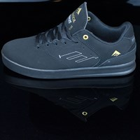 Emerica The Reynolds Low Shoes, Color: Black, Black in stock.