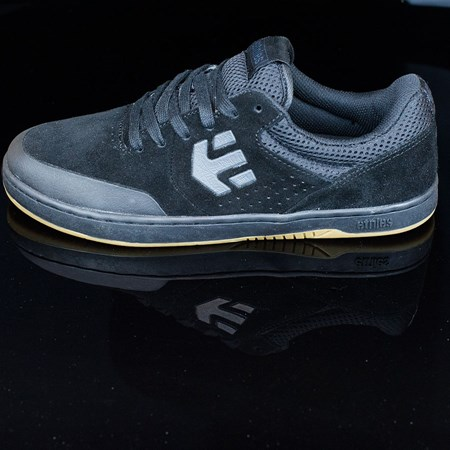 etnies Marana Shoes, Color: Black, Black, Gum