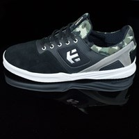 etnies Highlight Shoes, Color: Black, Camo in stock.
