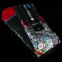 Stance Jason Jessee Posidon Socks, Color: Black in stock.