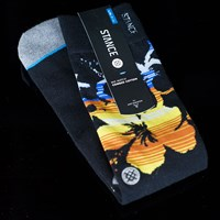$14.00 Stance Midland Socks, Color: Black