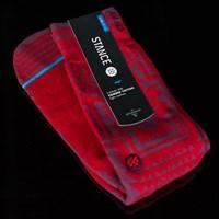 $14.00 Stance Clovis Socks, Color: Red