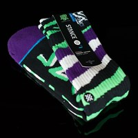Stance Lizard King Socks, Color: Green in stock.