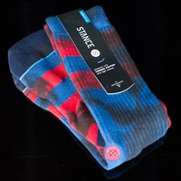 $12.00 Stance Invert Socks, Color: Red