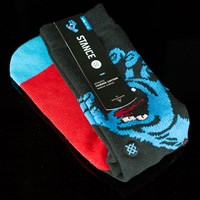 Stance Screaming Hand Socks, Color: Black in stock.