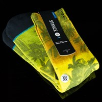 Stance Jah-Loha Socks, Color: Rasta in stock.