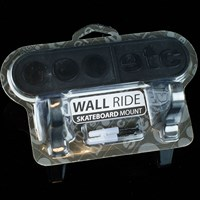 $13.00 Etcetera Wall Ride Skateboard Mount, Color: Black
