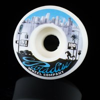$30.00 Paradise Wheel Co Miami Down Town Series Wheels, Color: White