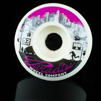 $30.00 Paradise Wheel Co Los Angeles Down Town Series Wheels, Color: White