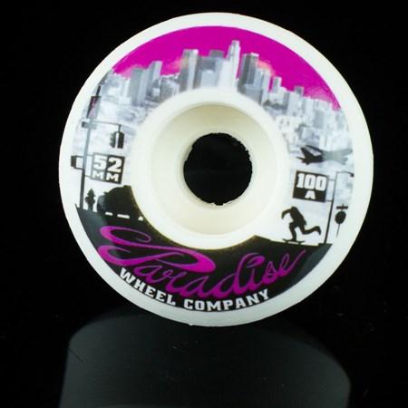 Paradise Wheel Co Los Angeles Down Town Series Wheels White