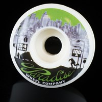 $30.00 Paradise Wheel Co New York Down Town Series Wheels, Color: White