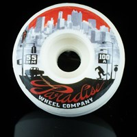 $30.00 Paradise Wheel Co Atlanta Down Town Series Wheels, Color: White