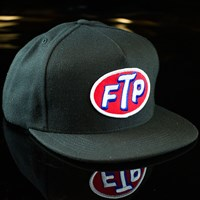 Huf FTP Snapback Hat, Color: Black in stock.