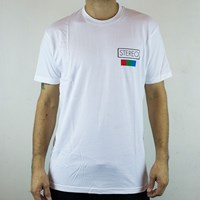 Stereo Analog Camera T Shirt , Color: White in stock.