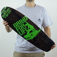 Grind For Life Logo Cruiser Deck in stock.