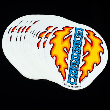 Bones Brigade Tommy Guerrero Flaming Dagger Sticker Assorted