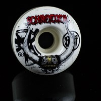 $32.00 Bones Wheels Ben Schroeder SPF Viking Wheels, Color: White