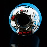 $32.00 Bones Wheels Filmbot II ATF Wheels, Color: Blue