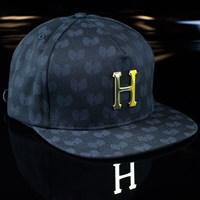 HUF Huf X Wu Tang Metal H Snapback Hat, Color: Black in stock.