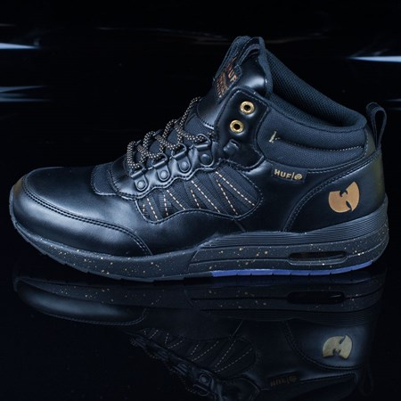 HUF HR-1 Wu Tang Edition Shoes, Color: Black