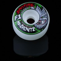 $30.00 Spitfire Wheels F1 Street Burners Dennis Busenitz Monster Mash Wheels, Color: White
