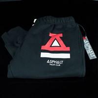 $45.00 Asphalt Yacht Club OG Logo Sweatpants, Color: Black