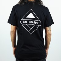 The Boardr Premium Pocket T Shirt, Color: Black in stock.