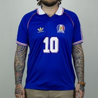adidas Skate Copa France Jersey, Color: Cobalt in stock.
