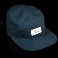 Isle  5 Panel Hat, Color: Black in stock.