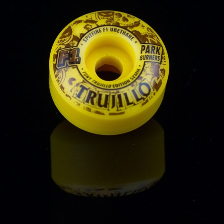 Spitfire Wheels F1 Park Burner Tony Trujillo Skidmarks Wheels Swirl