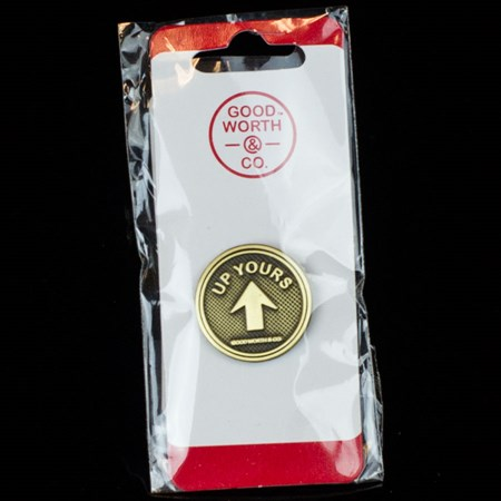 Goodworth and Co Up Yours Pin N/A