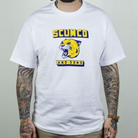 $20.00 Scumco and Sons Panther T Shirt, Color: White