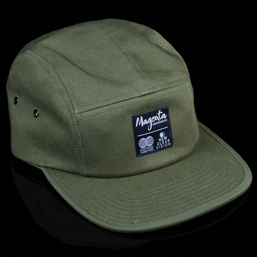 Subdivision 5 Panel Hat Olive In Stock at The Boardr 13abe1c1279