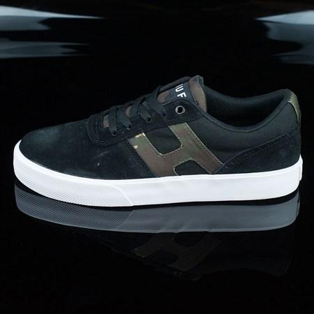 HUF Choice Shoes, Color: Black, Camo