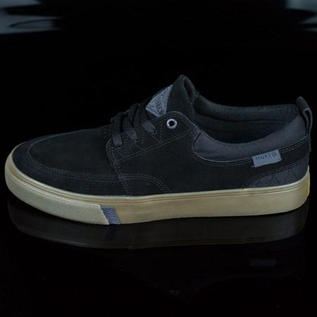 Size 7 in HUF Ramondetta Pro Shoes, Color: Black, Dark Gum