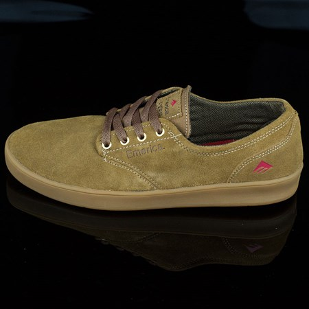 Size 11 in Emerica The Romero Laced Shoes, Color: Brown, Brown, Gum