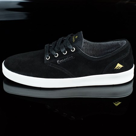 Size 12 in Emerica The Romero Laced Shoes, Color: Black, White
