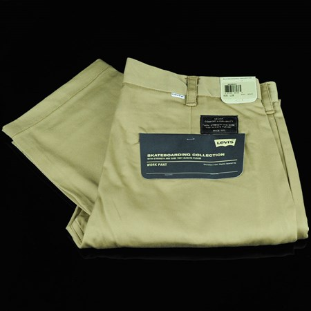 Size 30 X 30 in Levi's Skate Work Pants, Color: Harvest Gold
