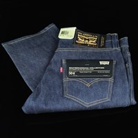 Levi's Skate 504 Jeans, Color: Rigid Indigo in stock.