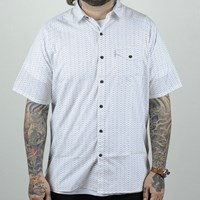 $58.00 Levi's Skate Short Sleeve Manual Shirt, Color: White Moon Phase