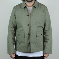 Levi's Skate BDU Jacket, Color: Deep Lichen Green in stock.