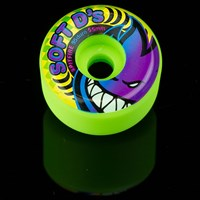 $30.00 Spitfire Wheels Soft D's 95D Wheels, Color: Neon Green