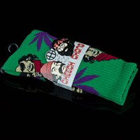 HUF Cheech & Chong 420 Socks, Color: Green in stock.