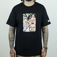 HUF Nice Dreams T Shirt, Color: Black in stock.
