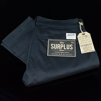 Kennedy Denim Co. The Surplus Chinos, Color: Black in stock.