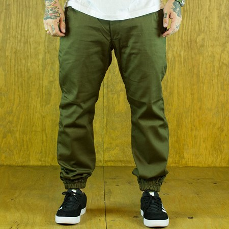 Size 36 in Kennedy Denim Co The Weekender Essentials, Color: Army Green