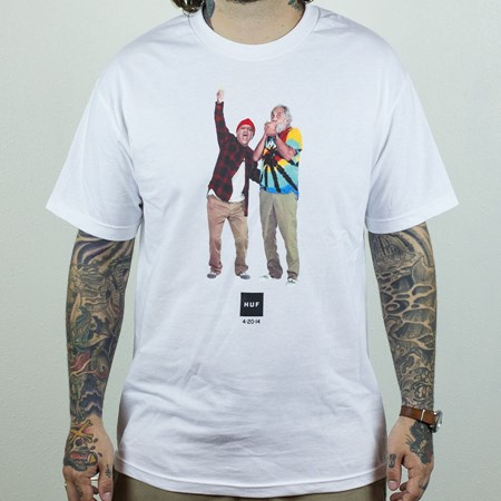 HUF 420-2014 T Shirt White
