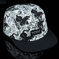 $40.00 RIPNDIP Sex Panther Camp Hat, Color: Black
