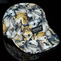 $40.00 RIPNDIP Wolves Camp Hat